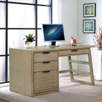Perspectives Single Pedestal Desk