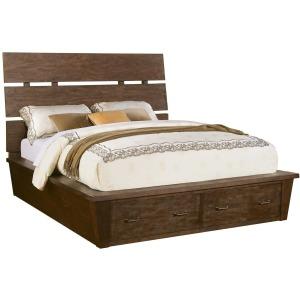 Promenade Queen Slat/Storage Bed