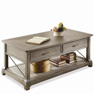 Windhaven X-Rectangular Coffee Table