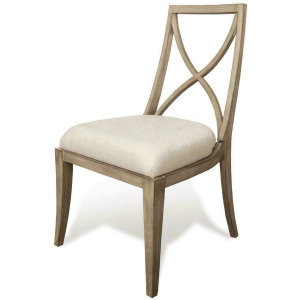 Sophie X-Back Upholstered Chair