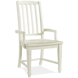 Grand Haven Slat Back Arm Chair