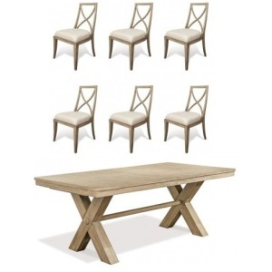 Sophie 7 PC Dining Set