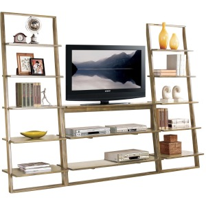 Lean Living Leaning TV Stand
