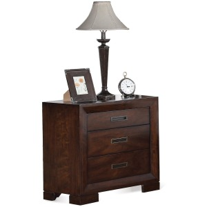 Riata Three Drawer Nightstand