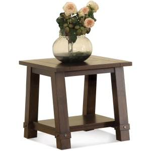 Angled Leg End Table
