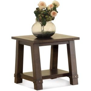 Angled Leg End Table