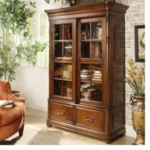 Bristol Court Sliding Door Bookcase