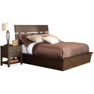 Promenade King Slat Bed
