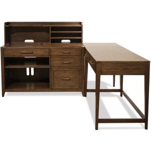 Vogue L Desk w/Storage