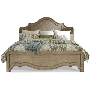 King/California King Curved Panel Footboard