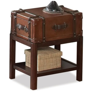 Latitudes Suitcase Chairside Table