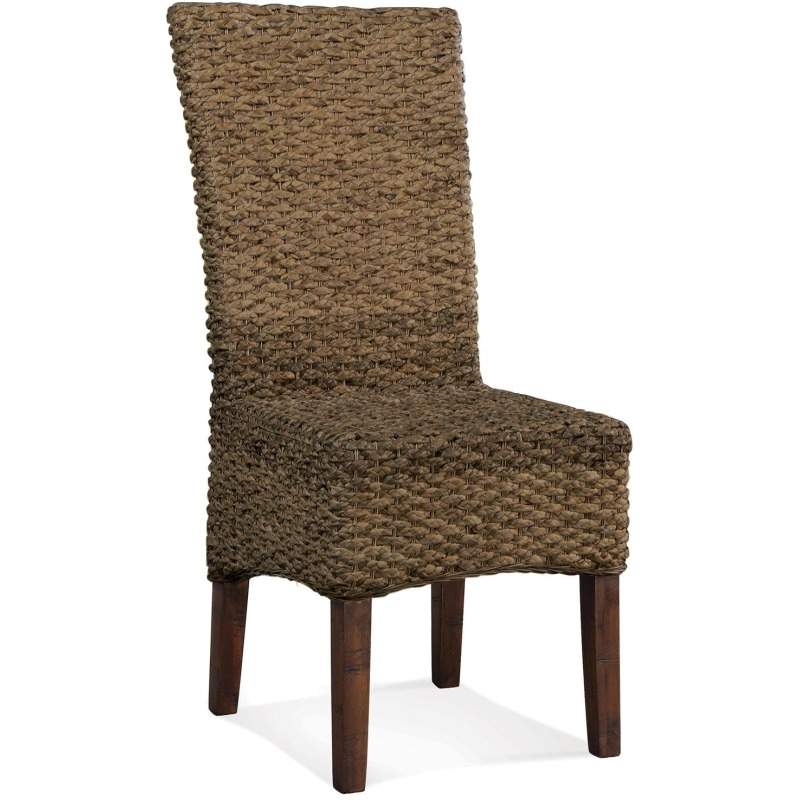 Woven Leaf SIde Chair
