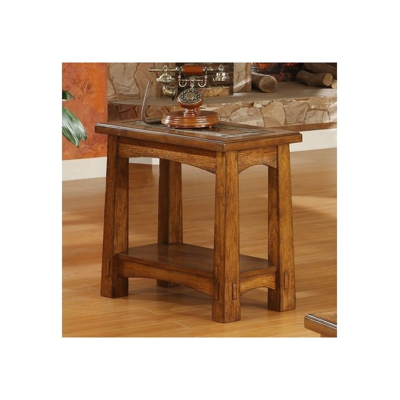 Craftsman Home Chairside Table