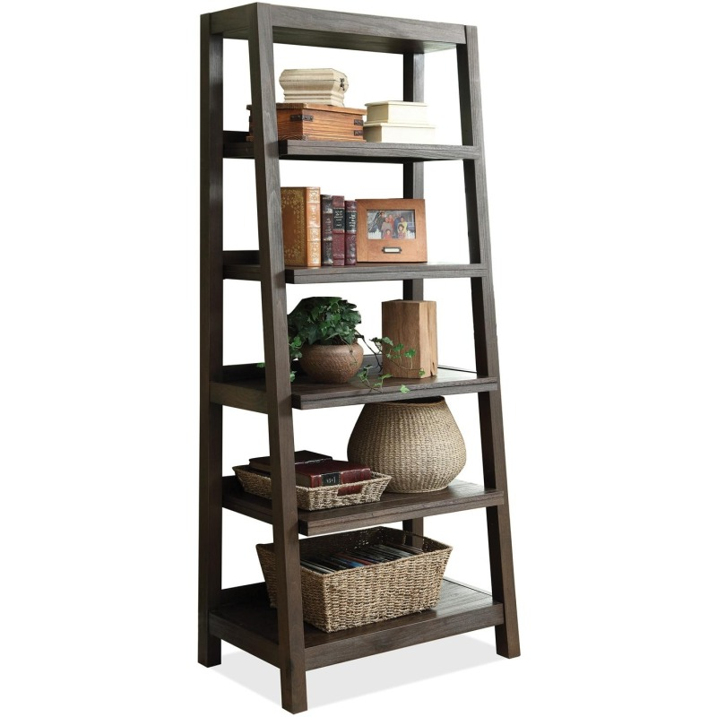 Promenade Canted Bookcase
