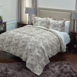 Vintage Butterfly Comforter Set