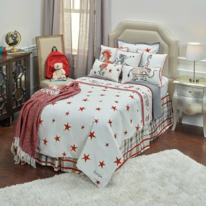 Rachel Kate Kids Comforter Set- Full/Queen