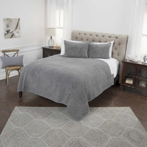 Queen Quilt - Stone Washed