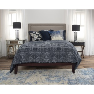 Winston Willow Queen Duvet Set - Indigo
