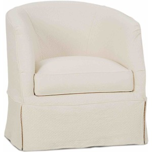 Benson Swivel Chair with Slipcover