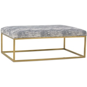 Percy Cocktail Table Ottoman - Gold