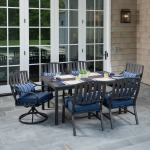 Norman 7PC Dining Set - Blue