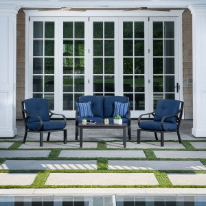 Norman 4PC Seating Set - Blue
