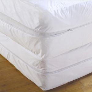 Mattress Encasement King - White