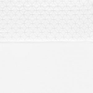 Sheet Set Emb. 3pcs Solid Twin White