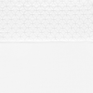 Sheet Set Embossed 4PC Solid Double White