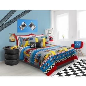 Comforter 3pc Set Microfiber Dq Grand Prix