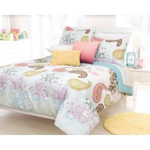 Comforter 3pc Dq Selena Aqua