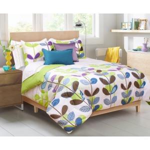 Comforter 3pc Dq Kimi Green