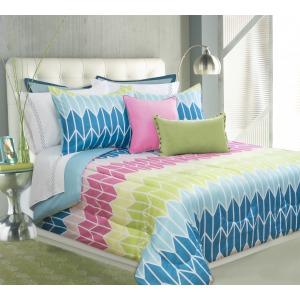 Comforter 3pc K Verve Blue