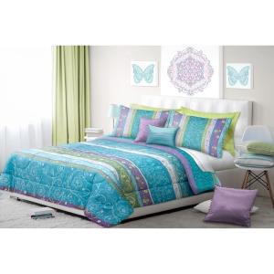 Comforter 3pc Dq Mystical Aqua