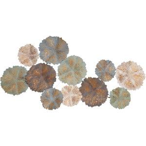 Multicolor Metal Circles Walldecor, Wb