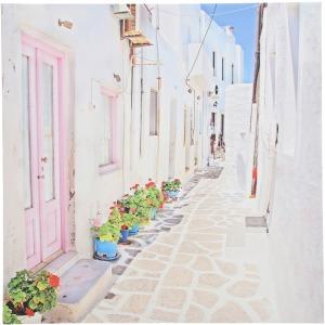 Pink Door Alley Canvas Print