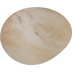 Faux Wood Ceramic Plate 15