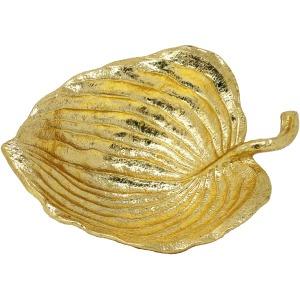 Gold Leaf Plate 14.25