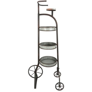 3-tier Metal Tricycle Planter, Kd
