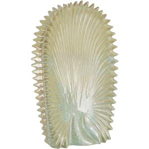 Green Venus Palm Vase 19