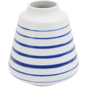 Ceramic Striped Vase 7