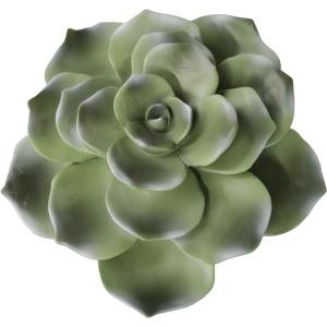 "Polyresin 8"" Succulent Wall Decor, Green Wb"