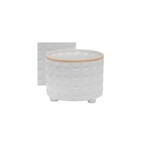 Ceramic Planter w/Dots - Small