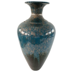 "Glass 20"" Vase - Blue Mix"