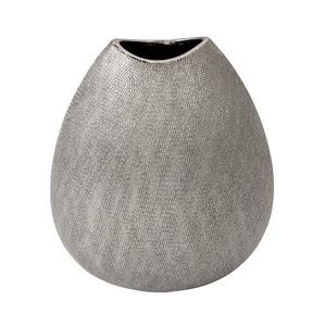 """Ceramic 10.75"""" Vase - Champagne"""