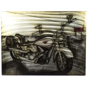 Motorcycle Wall Decor, Multi