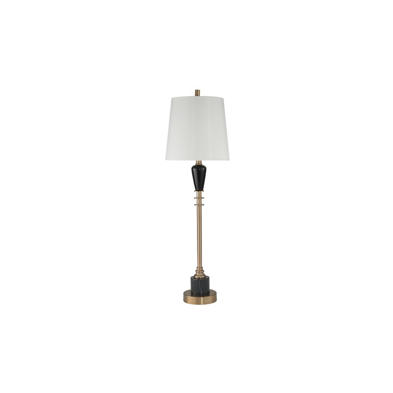 Metal Marble 33 Table Lamp W Usb By Sagebrook Home 50167 Tomlinson Furniture