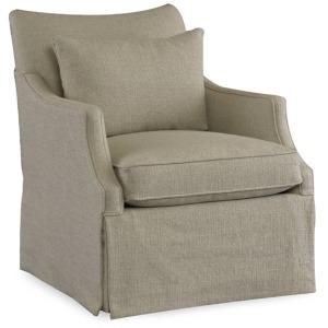 Azriel Skirted Club Chair