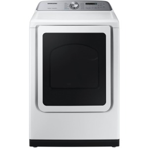 7.4 cf Electric Top Load Dryer with Steam Sanitize+