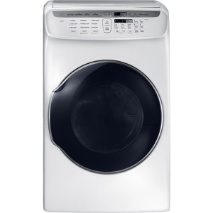 7.5 cf gas dryer w/ Multi-Steam (White)